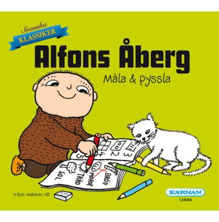 Mini Målar- och Pysselbok Alfons Åberg