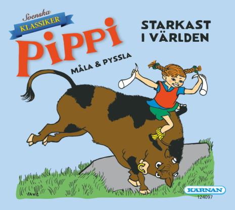 Mini Målar- och Pysselbok Pippi Starkast i Världen