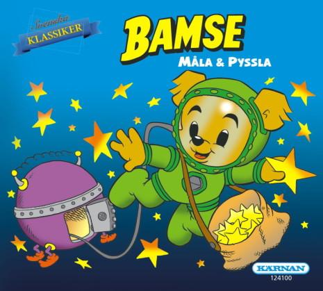 Mini Målar- och Pysselbok Bamse