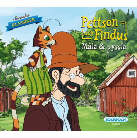Mini Målar- och Pysselbok Pettson och Findus