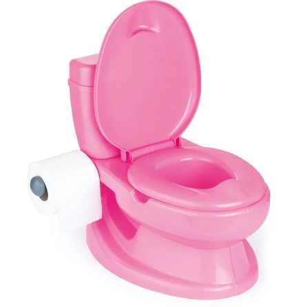 Dolu Toalettstol / Potta, Rosa