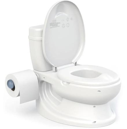 Dolu Toalettstol / Potta, Vit