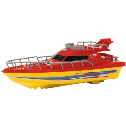 Dickie Toys Båt Ocean Dream, Röd/Gul