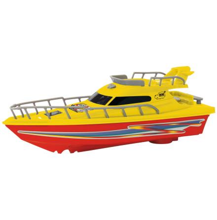 Dickie Toys Båt Ocean Dream, Gul/Röd