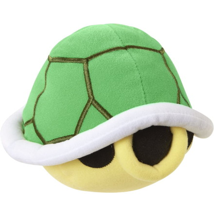 Super Mario SFX Plysch, Green Turtle Shell