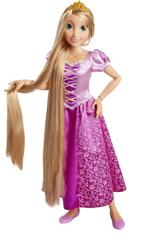 Disney Princess Rapunzel, 80 cm