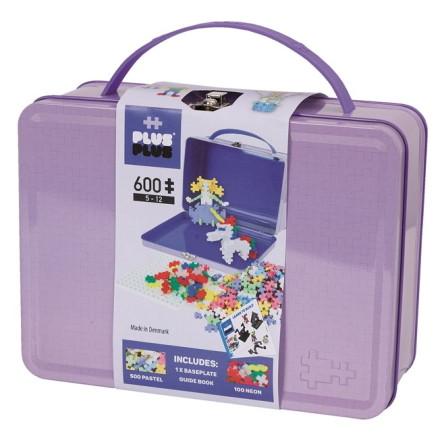 Plus-Plus Suitcase Pastel Metal