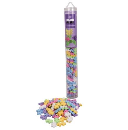 Plus-Plus Pastel Mix Tube, 100 delar