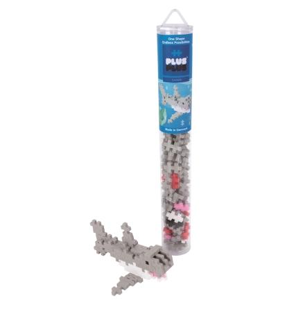 Plus-Plus Shark Tube, 100 delar