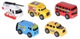 Toy State Mini Transportfordon, 5-pack