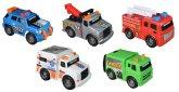 Toy State Mini Servicefordon, 5-pack