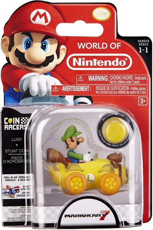 Details about  /Super Mario Coin Racers*MarioKart*LUIGI*