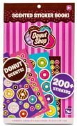 Donut Shop Scented Sticker Book