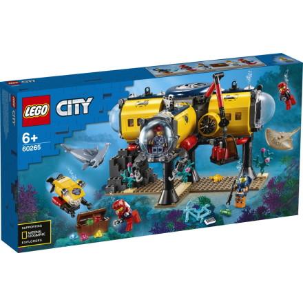 Lego City Hav - forskningsbas