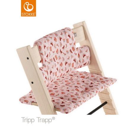 Tripp Trapp Dyna Classic, Pink Fox