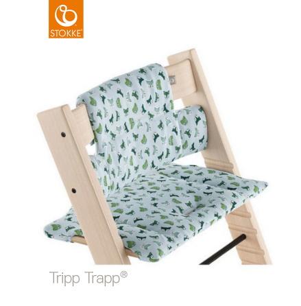 Tripp Trapp Dyna Classic, Blue Fox