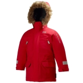 Helly Hansen K Powder Insulated Kids Parka, Red