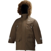 Helly Hansen K Powder Insulated Kids Parka, Walnut