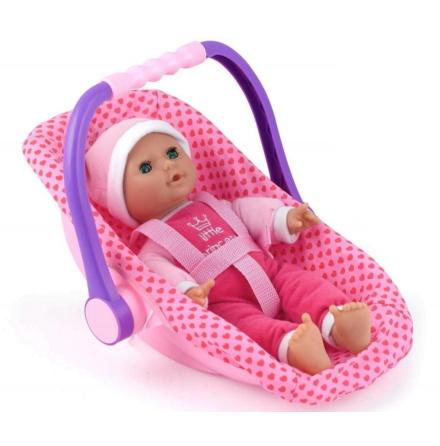 Docka Isabella med Babyskydd, 30cm, Peterkin