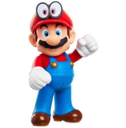 Super Mario Figur, Mario & Cappy, 6cm