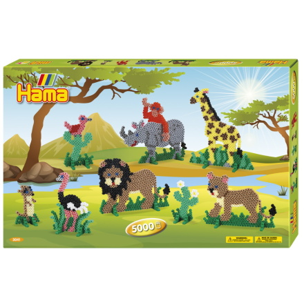 Hama Midi Presentbox Safari 5000 pärlor