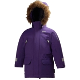 Helly Hansen K Powder Insulated Kids Parka, Imperial Purple