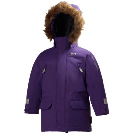 Helly Hansen K Powder Insulated Kids Parka, Imperial Purple