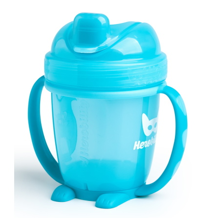 HeroBility Sippy Cup 140ml, Blå