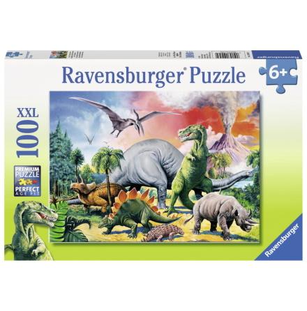 Among the Dinosaurs XXL, 100bitar, Ravensburger