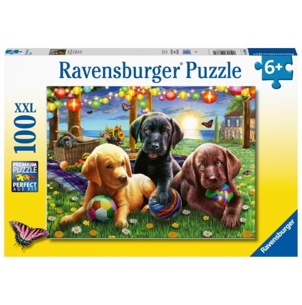Puppy Picnic XXL, 100bitar, Ravensburger