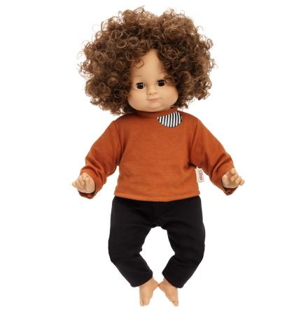 Lillan Docka, Mörkt hår, 36 cm