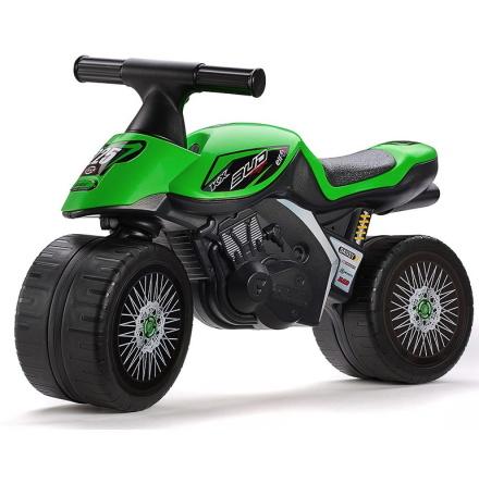 Falk Motorcykel Grön Kawasaki, 1-3 år