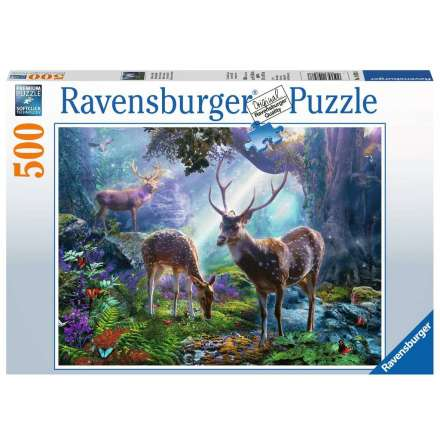 Deer In the Wild, 500bitar, Ravensburger
