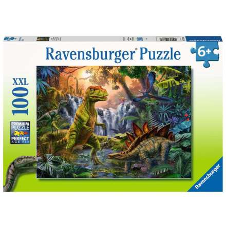 Dinosaur Oasis XXL, 100bitar, Ravensburger