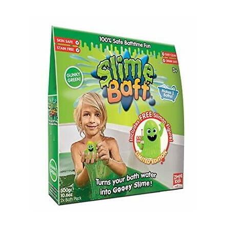 Slime Baff Limited Ed, Grön, 2 x 150g