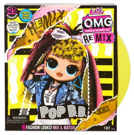 L.O.L. Surprise OMG Remix, Pop B.B.