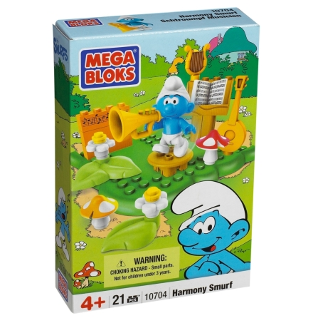 Mega Bloks Harmony Smurf