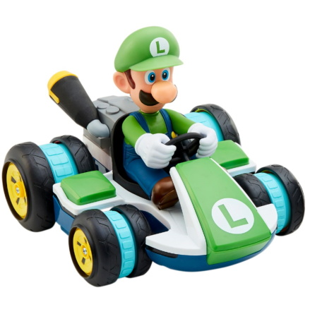 Super Mario Kart Luigi Anti-Grav Mini RC Racer
