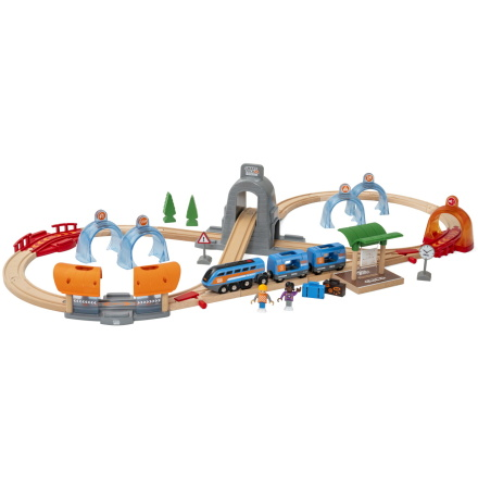 Brio Smart Tech Sound Action-tunnel Travel set