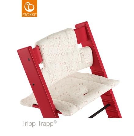 Tripp Trapp Dyna Classic, Geometric Red