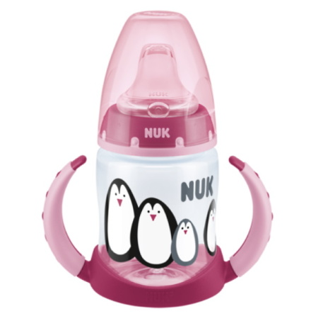 NUK First Choice+ Limited Edition Learner Bottle Monochrome, Rosa