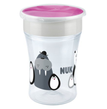 NUK Evolution Magic Cup Limited Edition Monochrome, Rosa