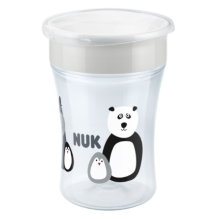 NUK Evolution Magic Cup Limited Edition Monochrome, Vit
