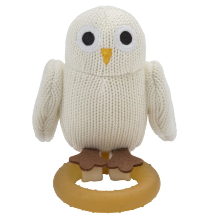 Rätt Start Bitleksak Baby Owls med Naturgummi