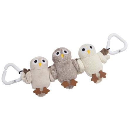 Rätt Start Vagnsleksak, 3-fig, Baby Owls