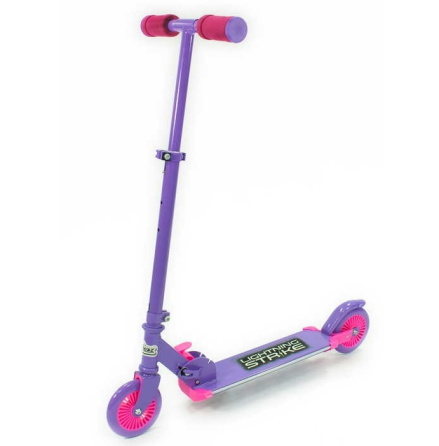 Ozbozz Lightning Strike Scooter, Purple