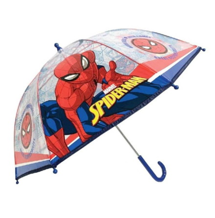 Paraply Spider-Man Transparent Kupol