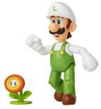 Luigi med Eldblomma, 10cm, Super Mario Figur