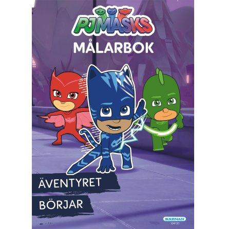 Målarbok Pyjamashjältarna
