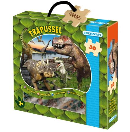 Askpussel Dinosaurier, 30 bitar